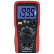 CD300 - Capacímetro ICEL Escalas: 200p/2n/20n/200n/2u/20u/200u/ 2.000u/20.000uF