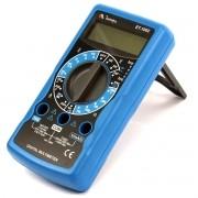 ET1002 - Multímetro Digital Minipa Tensão AC/DC: 600V Corrente 10A