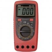 MD1700 - Multimetro Digital Icel TESTE DE CONTROLE REMOTO: INFRAVERMELHO TENSÃO CONTÍNUA: 1000Vdc TENSÃO ALTERNADA: 700VAC