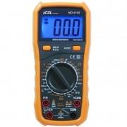 MD6108 - Multimetro Digital Icel Indutância, Capacitância, Freqüência, TENSÃO AC E DC: 700/1000.