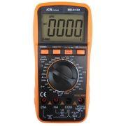 MD6130 - Multímetro Digital Icel True RMS Tensão DC: 1.000V Capacitância e Indultância Corrente DC: 20A