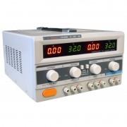 PS6000 - Fonte de Alimentação ICEL com duas saidas 32V - 6A e uma com 5V e 3A