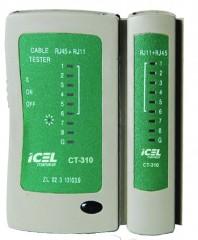 CT310 - Testador de cabo de Rede Identificador de curto circuito  - Rio Link