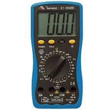 ET2042D - Multímetro digital DC 1.000V Capacitância, resistência e Freqüência.  - Rio Link