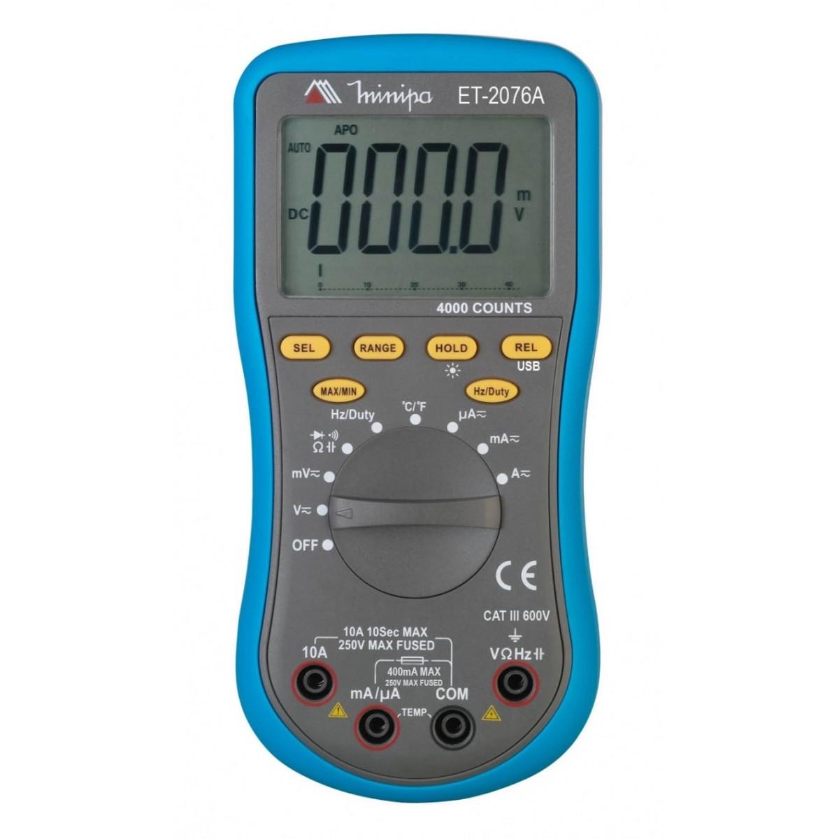 ET2076A - Multímetro digital com Interface  - Rio Link