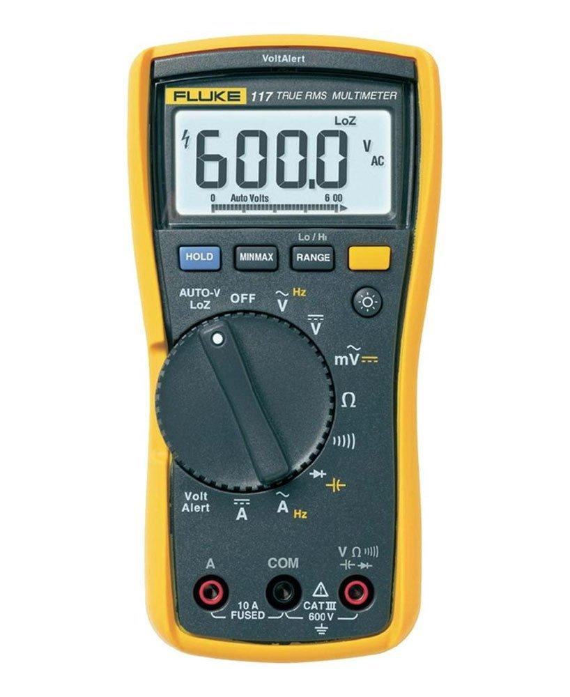 Fluke 117 - Multímetro digital com detector de tensão sem contato  - Rio Link