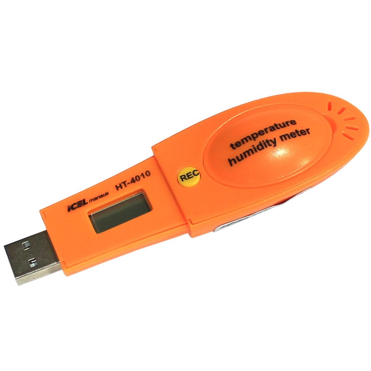 HT4010 - Termometro e Datalogger  TEMPERATURA: -40º A 105ºC