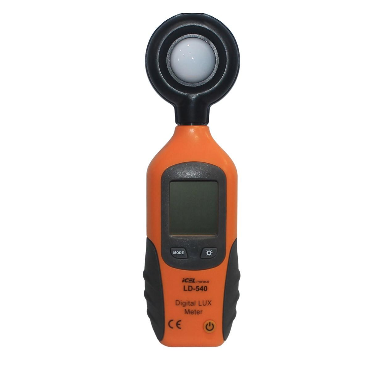 LD540 - Luximetro Icel ESCALA: 0 A 200.000 LUX  - Rio Link