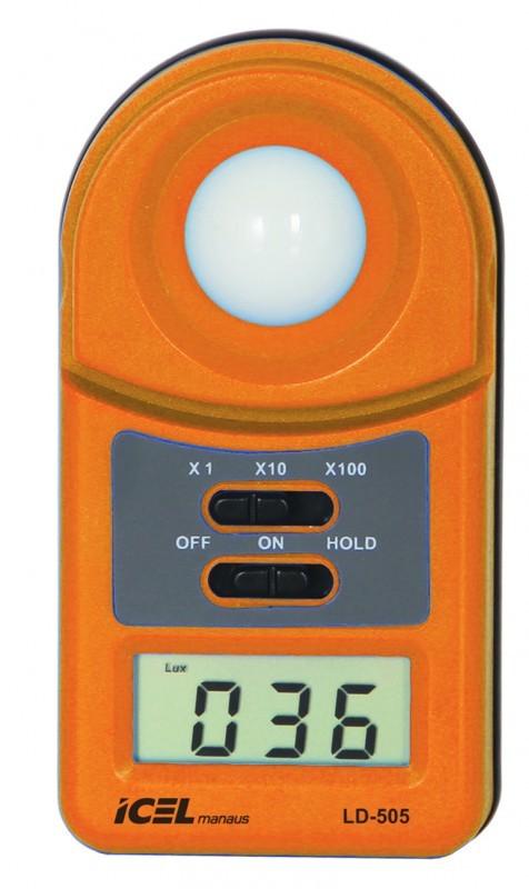LD505 Luxímetro Digital ESCALA X100: 50.000 LUX