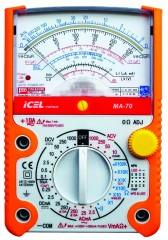 MA70 - Multimetro Analogico Tensão AC/DC: 1.000V Corrente: 10A  - Rio Link