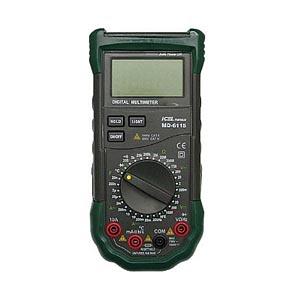 MD6115 - Multímetro digital ICEL Tensão DC/AC: 1.000V / 750V; Corrente DC/AC: 10A  - Rio Link