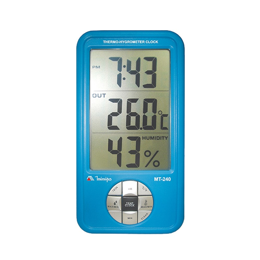 MT240 - Relógio Termo-higrômetro  - Rio Link
