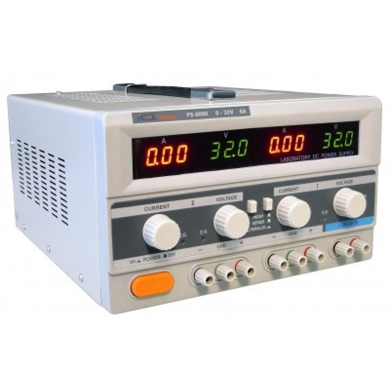 PS6000 - Fonte de Alimentação ICEL com duas saidas 32V - 6A e uma com 5V e 3A  - Rio Link
