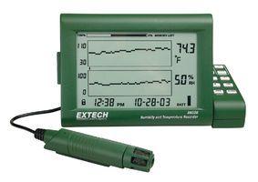 RH520 - Registrador de umidade e temperatura - EXTECH  - Rio Link