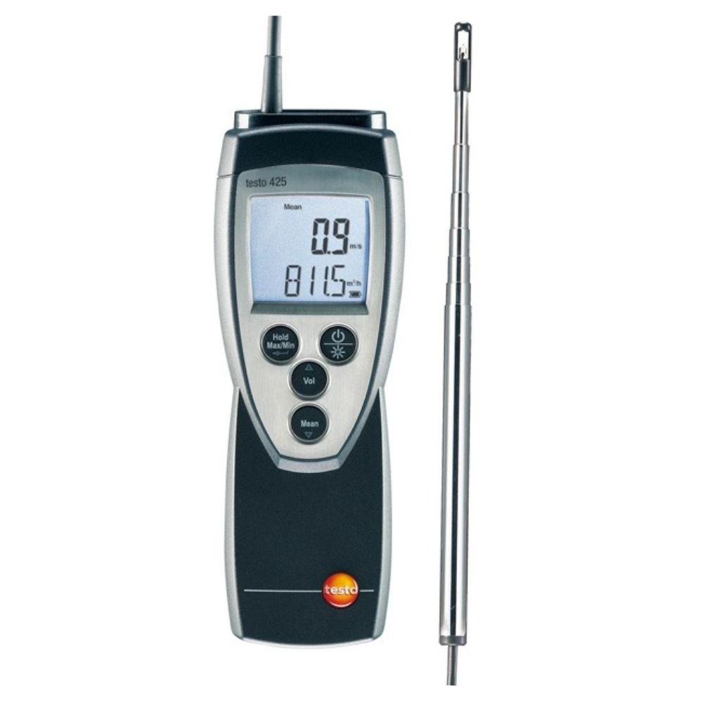 Testo 425 - Anemômetro Térmico Com Sonda Acoplada - (0 a 2)  - Rio Link