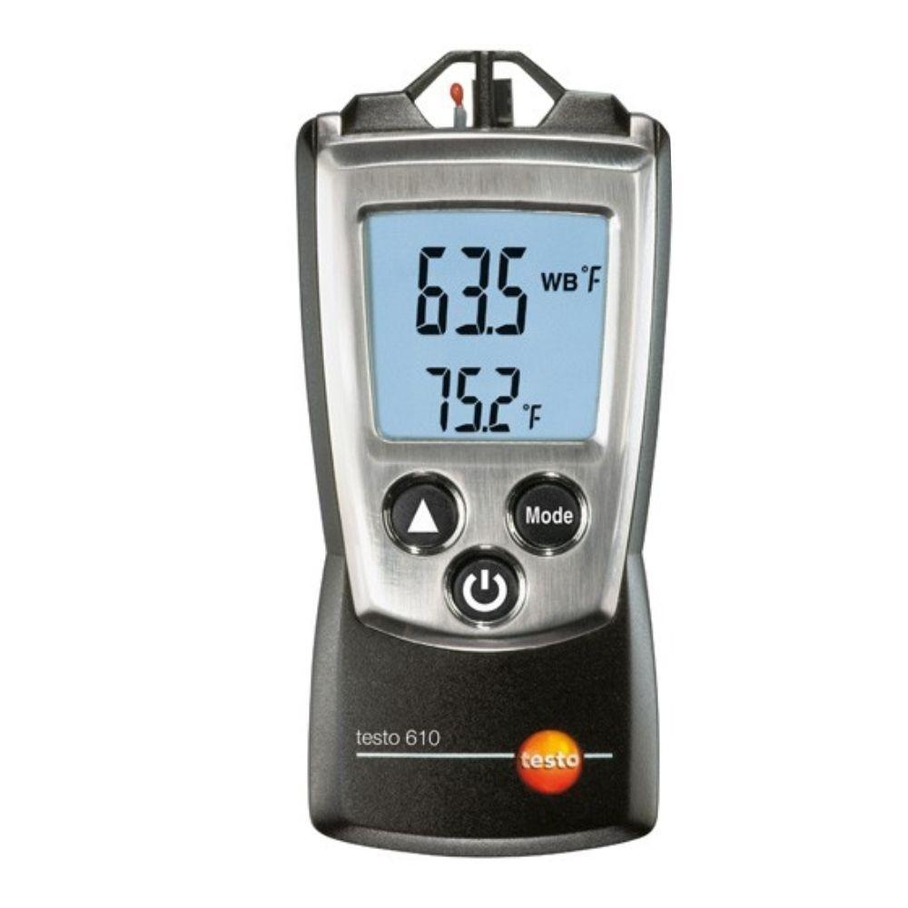 Testo 610 - Termohigrometro de umidade/temperatura  - Rio Link