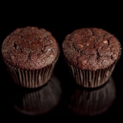 Chocolate | Lata de Cupcake  - Padaria do Mosteiro