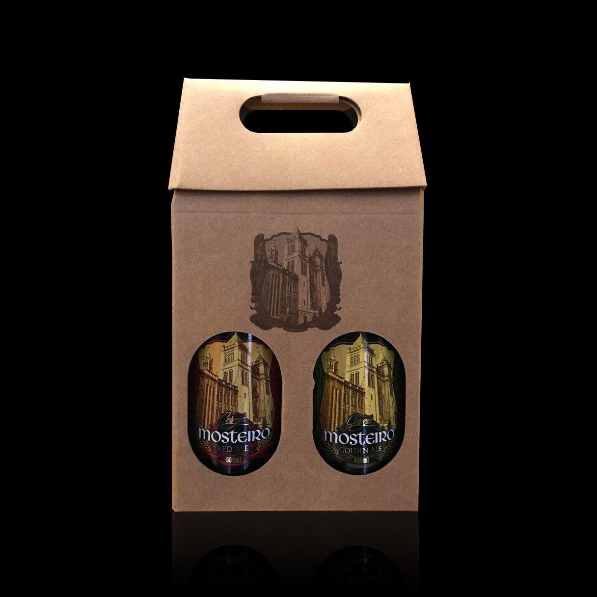 Kit com duas cervejas Mosteiro  - Padaria do Mosteiro