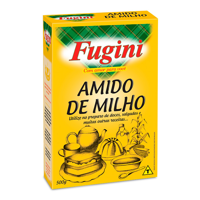 Amido de Milho 500g  Fugini