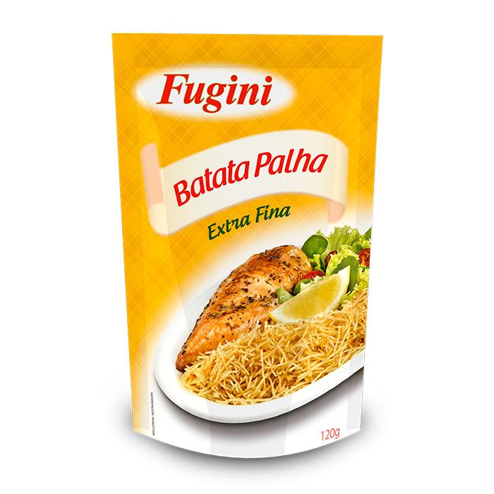 Batata Palha Extra Fina 120g Fugini
