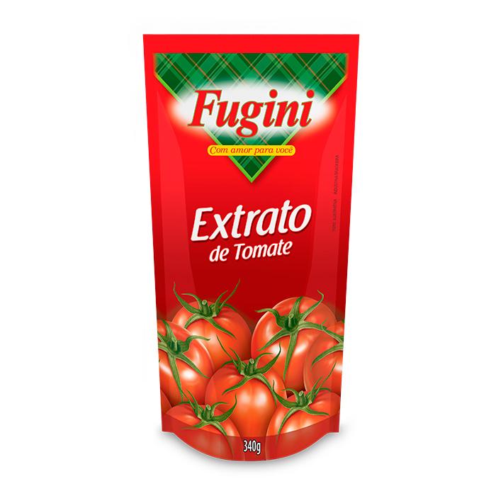 Extrato de Tomate Sachê 340g Fugini
