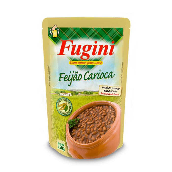 Feijão Carioca Sachê 250g Fugini