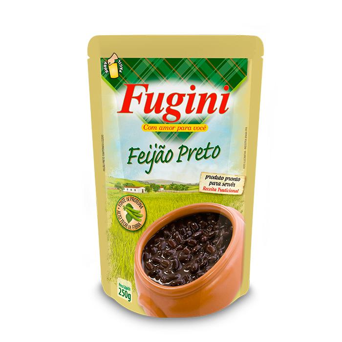 Feijão Preto Sachê 250g Fugini