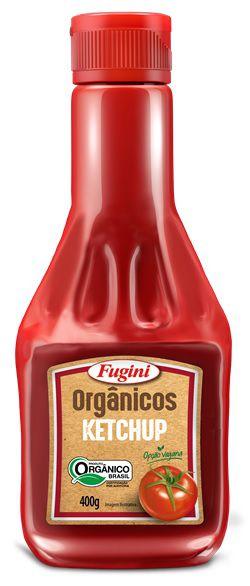 Ketchup Orgânico Frasco 400g Fugini