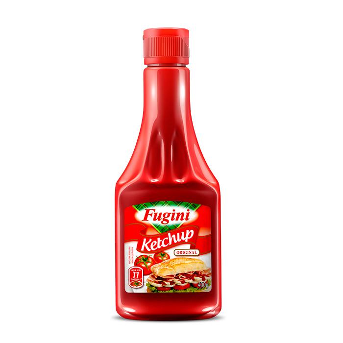 Ketchup Tradicional Frasco 400g Fugini