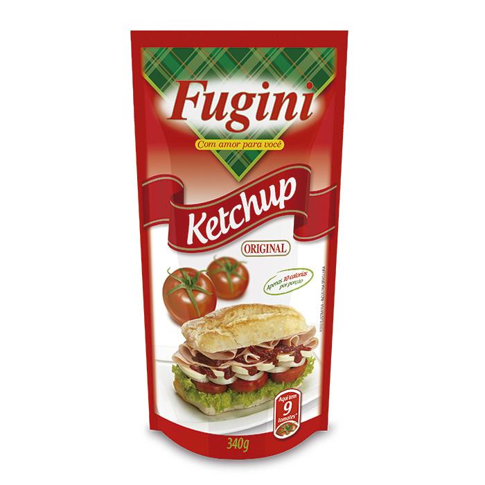 Ketchup Tradicional Sachê 340g Fugini