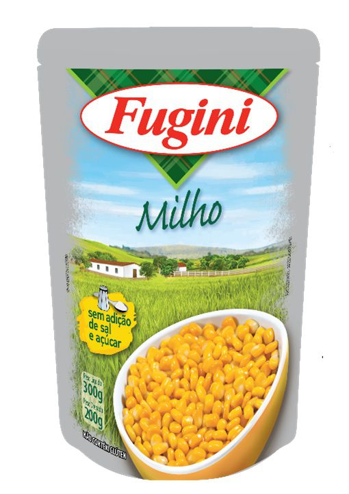 Milho Verde em Conserva Sachê 200g Fugini