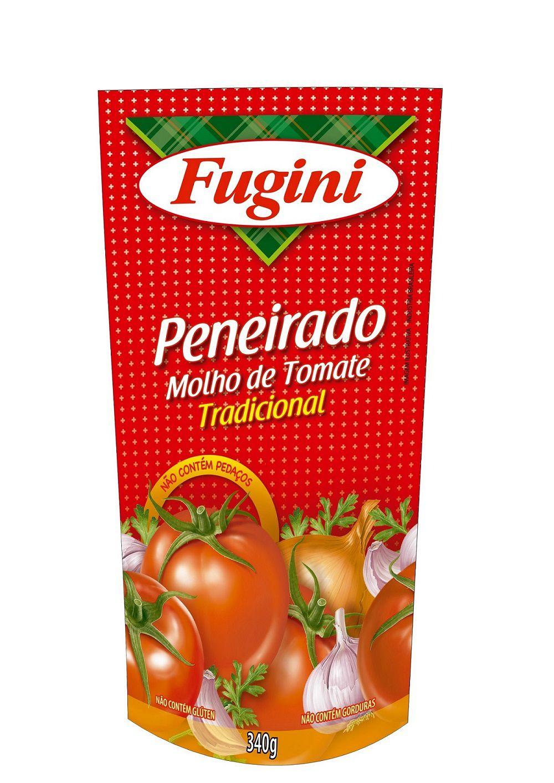 Molho de Tomate Peneirado Sachê 340g Fugini