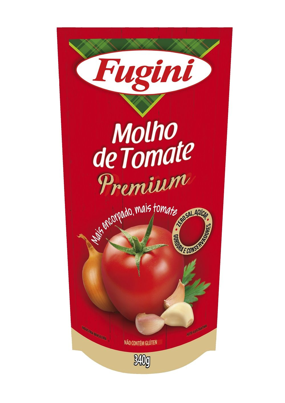 Molho de Tomate Premium 340g Fugini