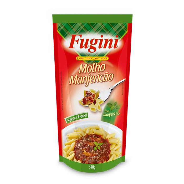 Molho de Tomate Manjericão Sachê 340g Fugini