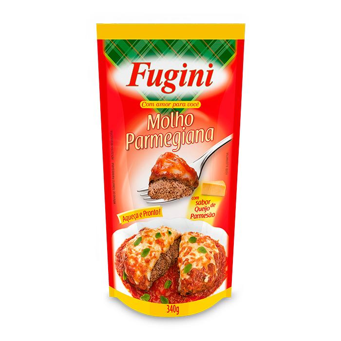 Molho de Tomate Parmegiana Sachê 340g Fugini