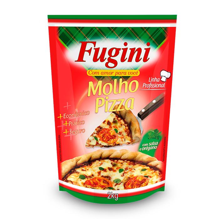 Molho de Tomate  Pizza Sachê 2Kg Fugini