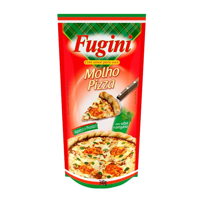 Molho de Tomate Pizza Sachê 340g Fugini