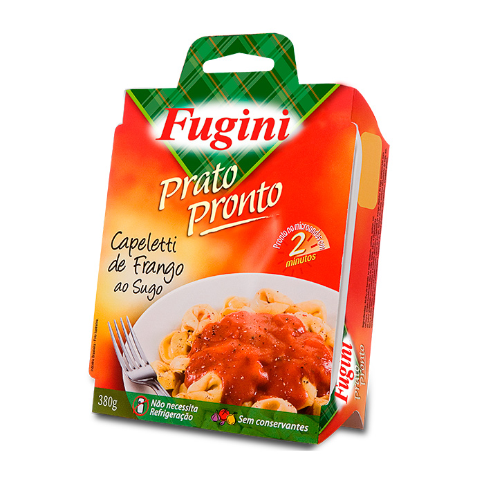 Prato Pronto Capeletti de Frango ao Sugo 310g Fugini