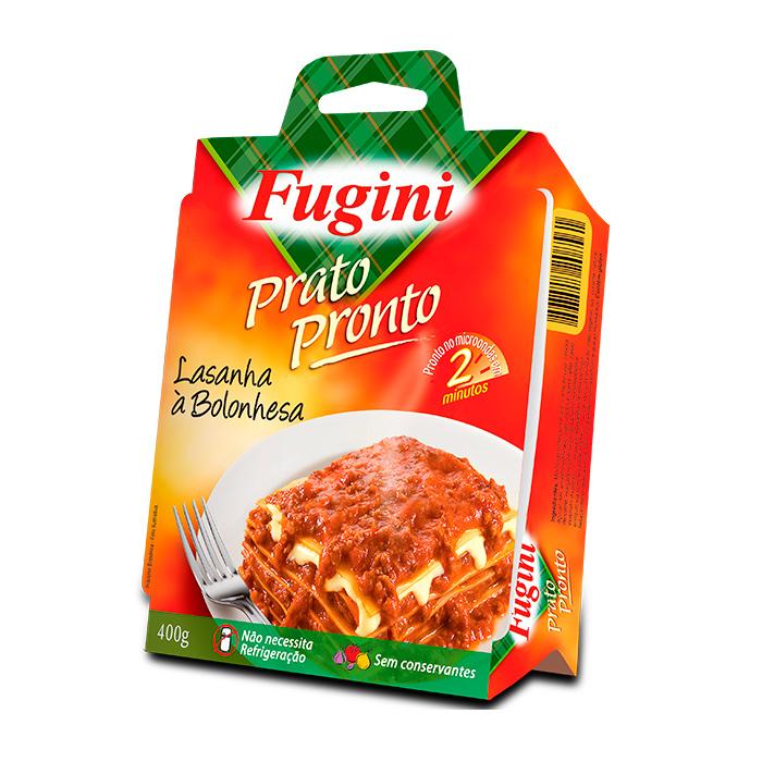Prato Pronto Lasanha à Bolonhesa 400g Fugini