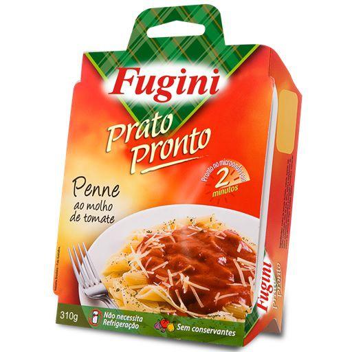 Prato Pronto Penne ao Molho de Tomate 310gr Fugini