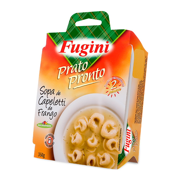 Prato Pronto Sopa de Capeletti de Frango 350g Fugini