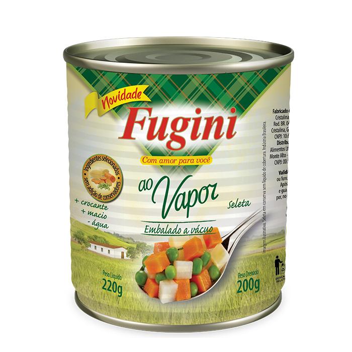 Seleta de legumes ao Vapor 200g Fugini