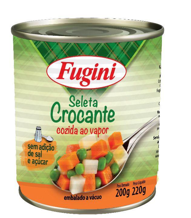 Seleta de legumes Crocante ao Vapor 200g Fugini