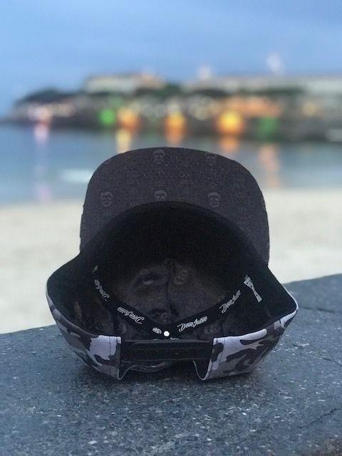 Boné Don Juan - SnapBack - Camuflado Cinza