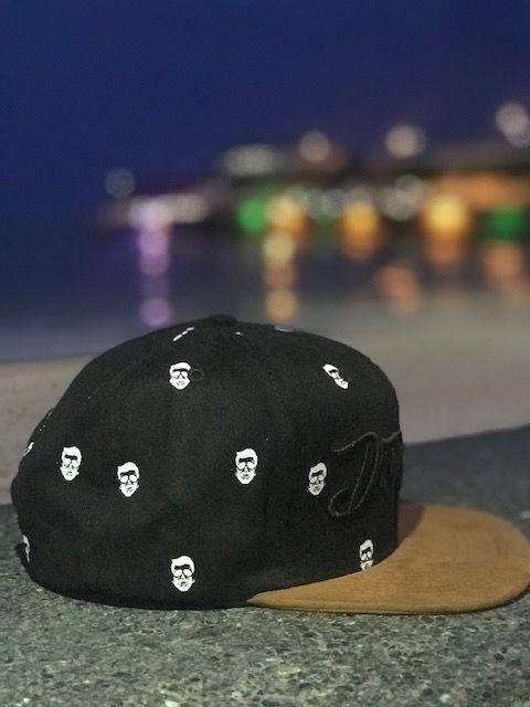Boné Don Juan - SnapBack - Mini Skulls Preto