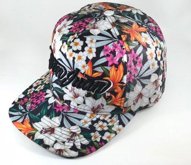 Boné DON JUAN - Trucker floral - Don Juan Pomade ... 9fc1f29ef51