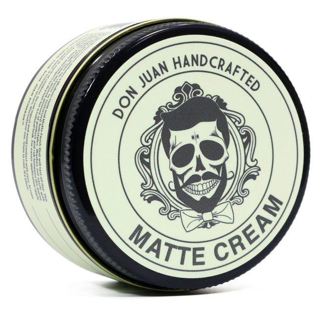 Don Juan Handcrafted Matte Cream - Pomada para Cabelo Masculino - 113g