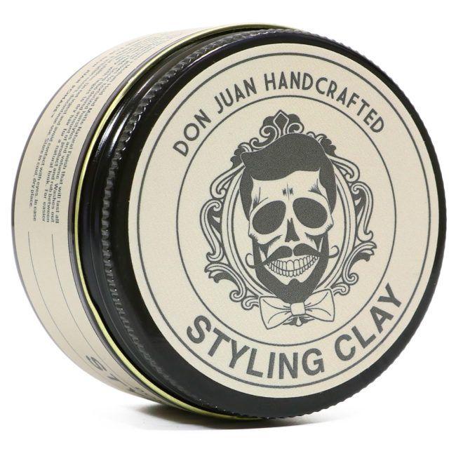 Don Juan Handcrafted Styling Clay - Pomada para Cabelo Masculino - 113g
