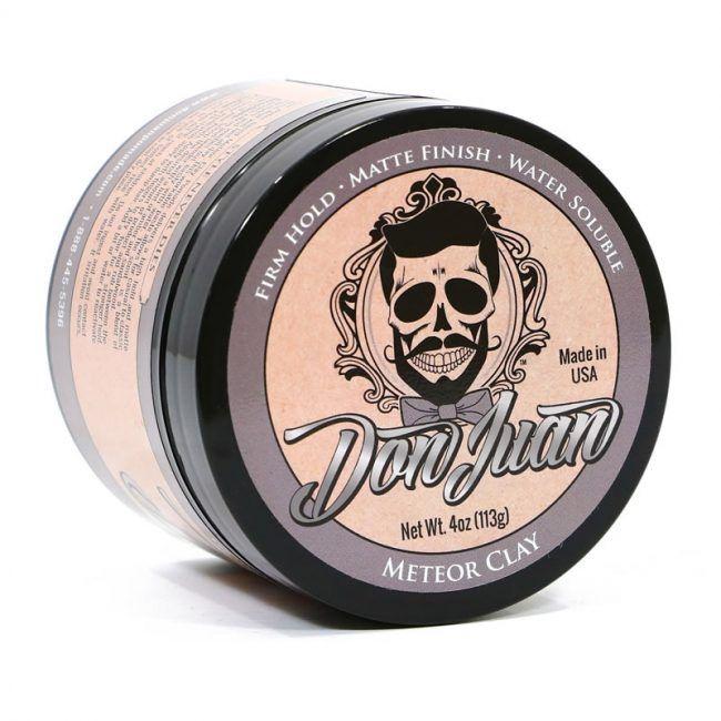 Don Juan Meteor Clay - Pomada para Cabelo Masculino - Efeito Fosco - 113g