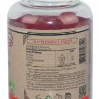 Biotina Gummy 10.000mcg - Sabor Morango - 100 unidades